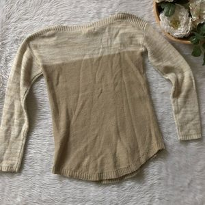 It's Our Time Sweaters - It's Our Time Cream Knit Sweater